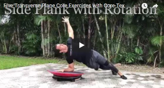 "5 ""Hands On"" Transverse Plane Exercises with Core-Tex"