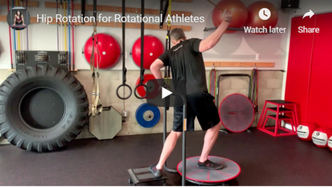 Create Ground Based Hip Rotation with Core-Tex