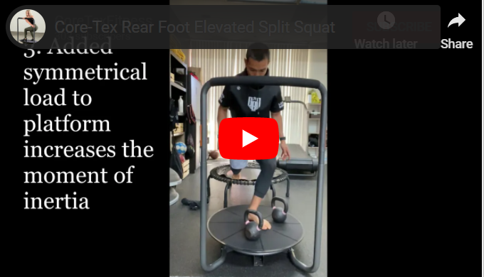 Core-Tex Split Squat Progressions