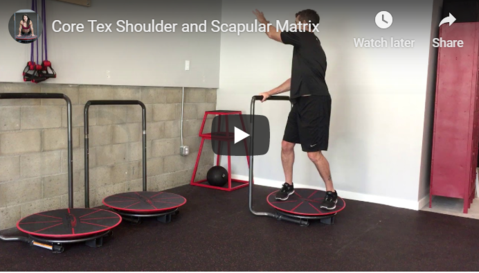 Shoulder Rehab-Core-Tex Shoulder and Scapula Matrix