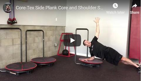 Core-Tex Side Plank and Shoulder Stability
