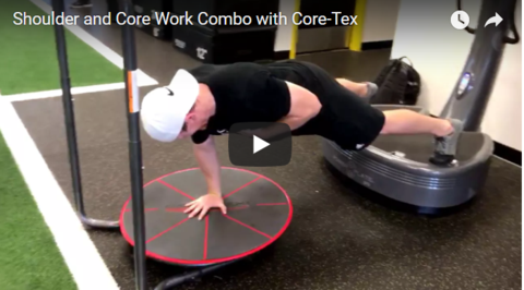 Core-Tex Single Arm Shoulder and Core Work