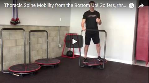 Thoracic Spine Mobility for Golf, Tennis and Throwers