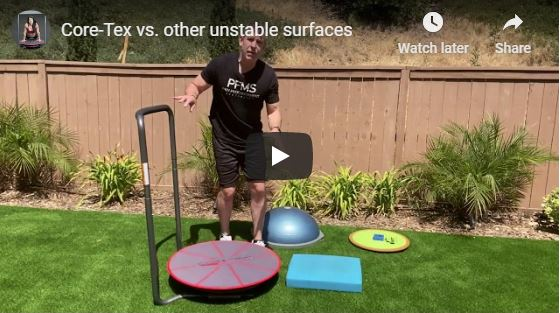Core-Tex vs. BOSU vs. Airex vs. Balance Board
