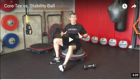 Core-Tex BOSU combination