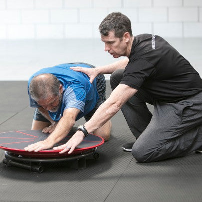 Assisted therapy and rehabilitation utilizing the Core-Tex Fitness Reactive Trainer