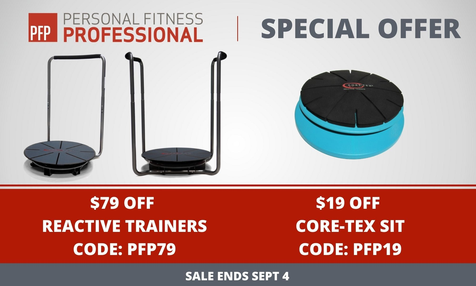 Personal Fitness Professional Sale