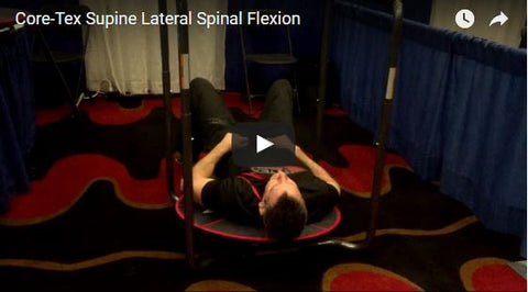 Supine lateral flexion