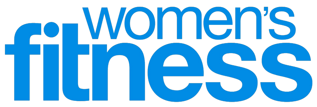 White and blue Women's Fitness logo