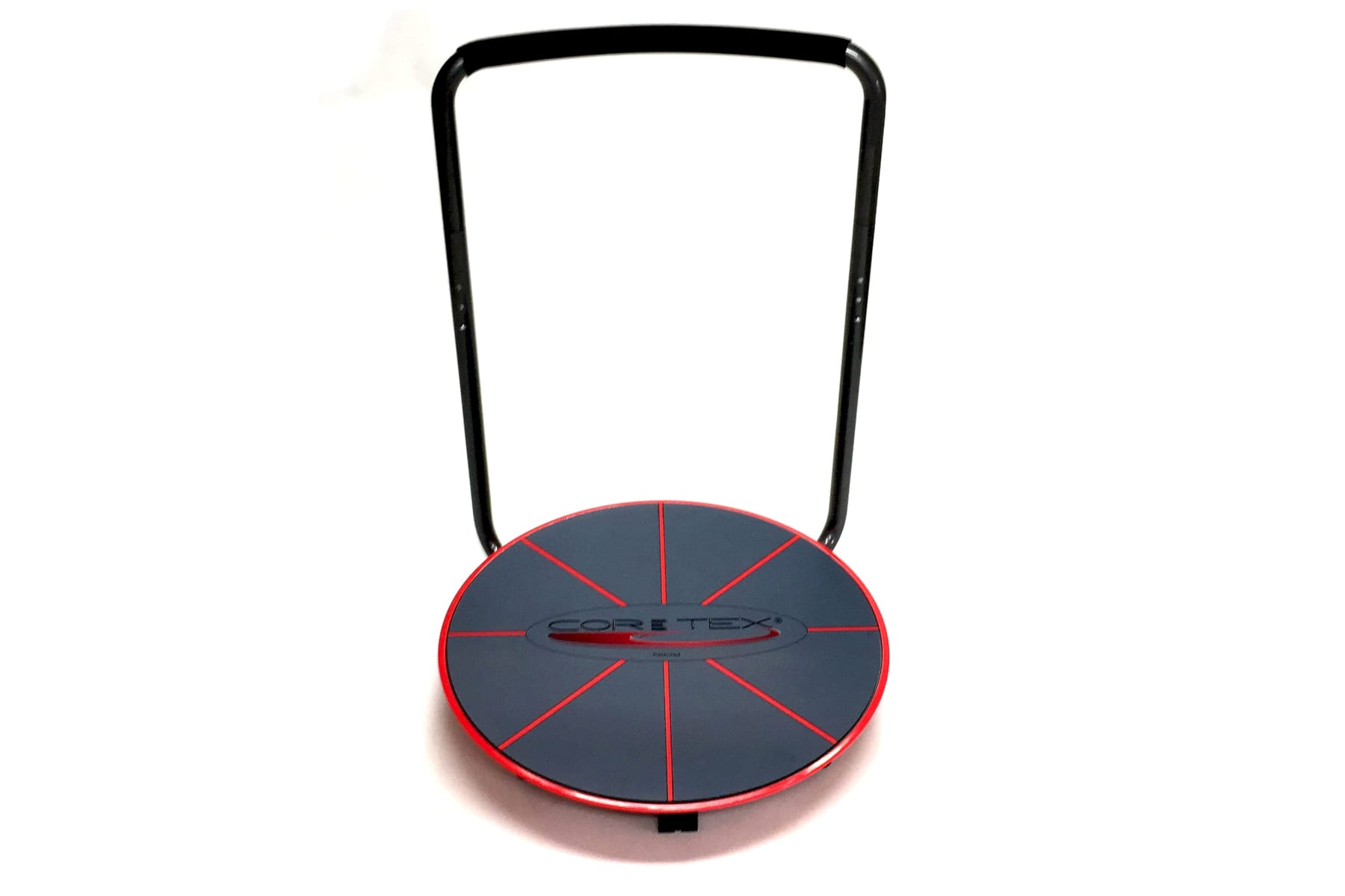 Red and black Core-Tex Reactive Trainer with single handrail