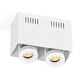 GC-BOX-2+GU10 Downlight - Lamptitude