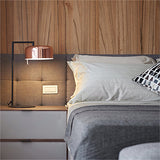 LALU-D-CPR+BK Table Lamp - Lamptitude
