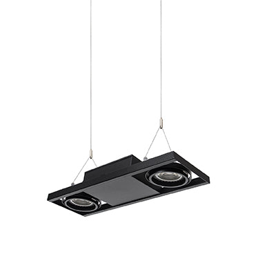 QDIO-HANG-2-BK Suspended Downlight - Lamptitude