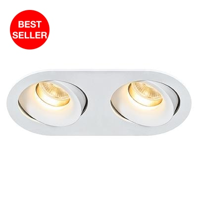 RONA-2+GU10 Downlight - Lamptitude