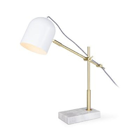 TABERG-T-WH Table Lamp - Lamptitude