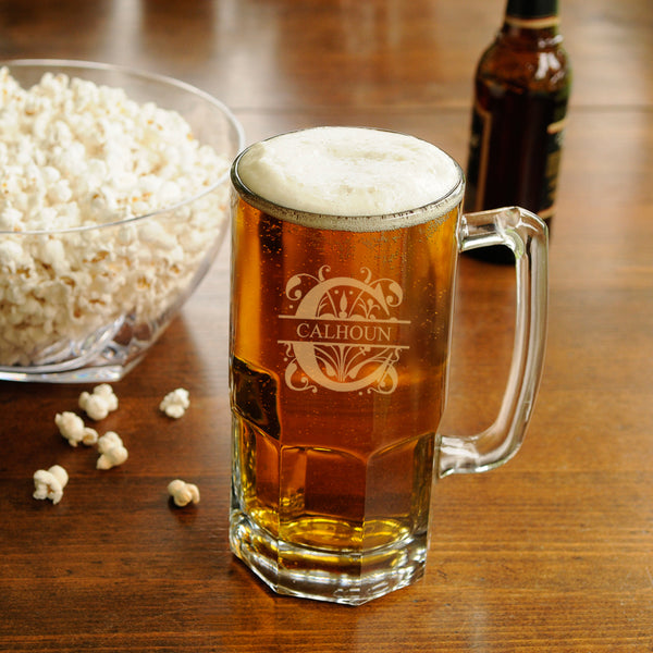 Personalized 33 oz. Monster Beer Mug