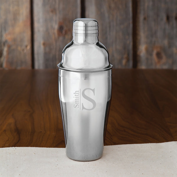 Personalized 20 oz. Stainless Steel Cocktail Shaker s
