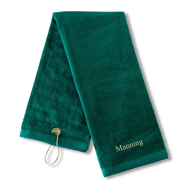 Personalized Golf Towel - Embroidered Golf Towel for Men