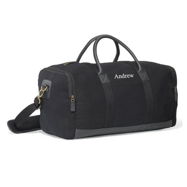 Personalized Canvas Duffel Bag and Gym Bag