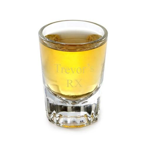 Engraved Distinctive Shot Glass