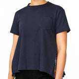 Sun Surf Diamond Head Pleated Side Panel Tee
