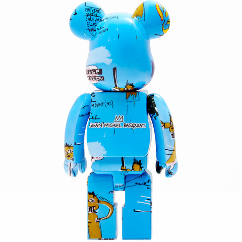 Jean-Michel Basquiat #4 1000% Be@rbrick