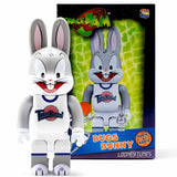 Riccardi Medicom Toy Space Jam Tune Squad Bugs Bunny Rabbit Rabbrick Be@rbrick Bearbrick Be@rbricks Bearbricks 100 100% 400 400% Set box