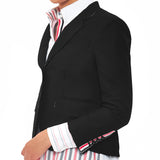 Riccardi Thom Browne Raw Edge Edged Edges Exposed Seams Blazer side