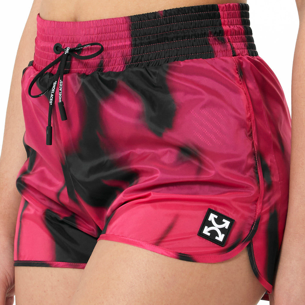 Tie-Dyed Active Short