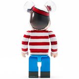 Riccardi Medicom Toy Where's Waldo Wally 400 400% Be@rbrick Bearbrick back