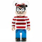 Riccardi Medicom Toy Where's Waldo Wally 400 400% Be@rbrick Bearbrick