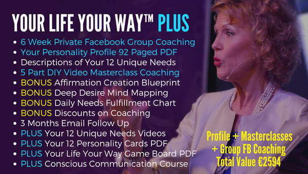 Your Life Your Way Plus with Diana Dentinger & 6 Week Group Coaching