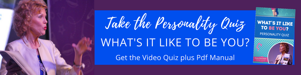 Take the Personality Quiz with Diana Dentinger