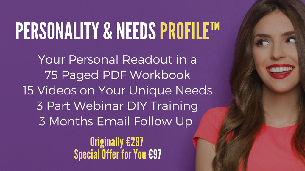 Personality & Needs Profile Special Offer