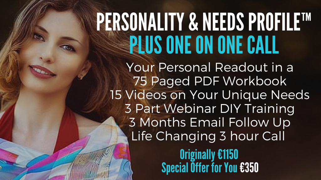 Personality & Needs Profile plus Call with Diana Dentinger