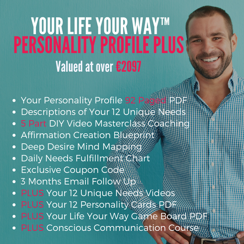 PLUS PACKAGE Your Life Your Way Profile with Diana Dentinger