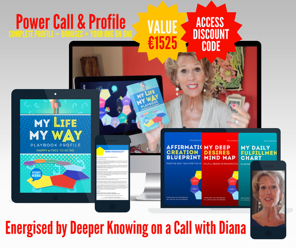 03. POWER HOUR 90 Minute One on One Call with Your Life Your Way™ PROFILE & 4 Part Masterclass