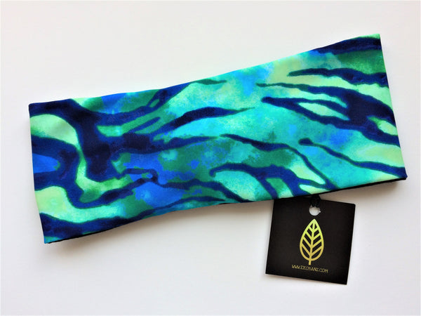 Caribbean Waters Print Head-banz