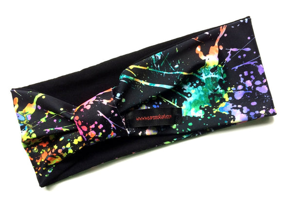Paint Splatter Print Head-banz