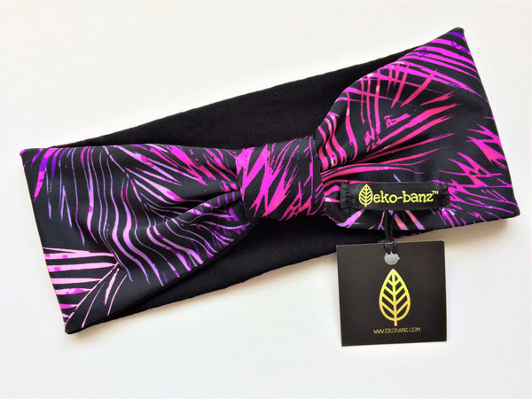 Fuchsia Palm Frond Head-banz