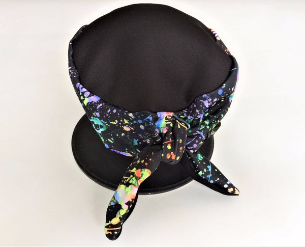 Paint Splatter tie-back hatz