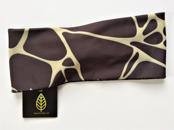 Brown/Beige Printed Head-banz