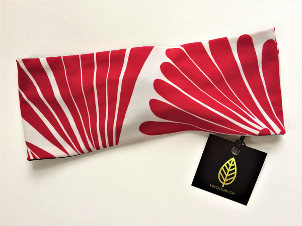 Red Fan Print Head-banz