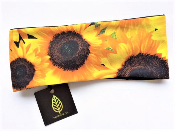 Sunflower Print Head-banz