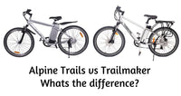 X-Treme Alpine Trails vs. Trailmaker electric bikes - The difference explained