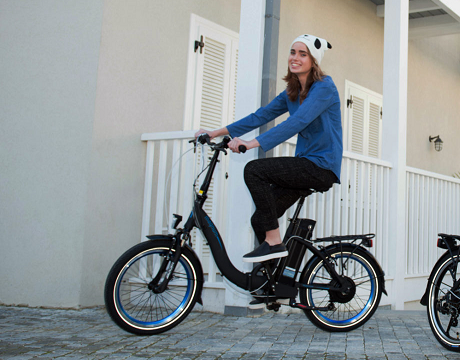 Step-Through E-Bikes