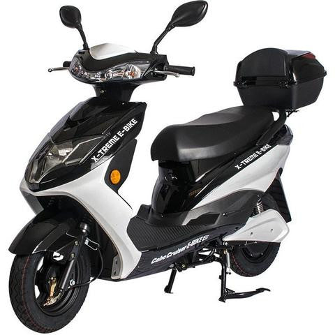X treme cabo cruiser elite electric moped with storage for Do you need a license for a motorized bicycle