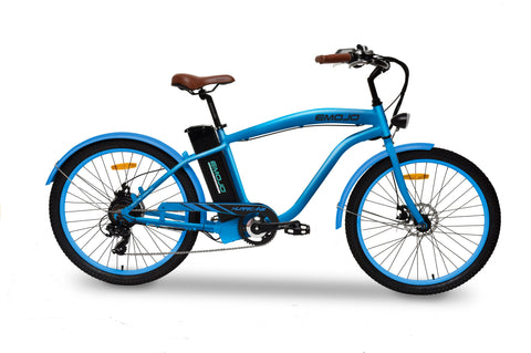 EMOJO Hurricane Beach Cruiser Electric Bike 36V 500W
