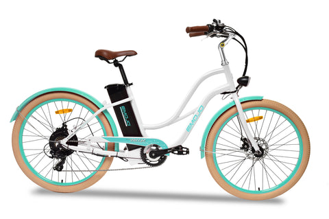EMOJO Breeze Electric Beach Cruiser Bike