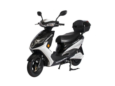 X-Treme Cabo Cruiser Elite Electric Moped with Storage - Electro Pedal